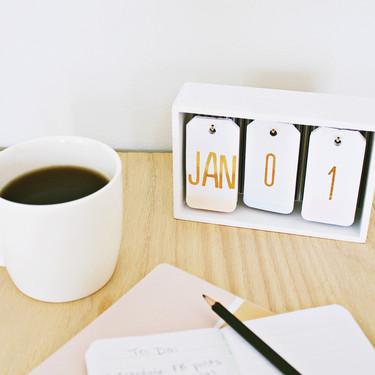 Calendarios del 2018; algunos de los más vendidos, algunos descargadables y un DIY para empezar el año
