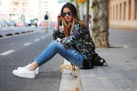 Flatforms, zapatillas con suela gruesa street style tendencia 2014