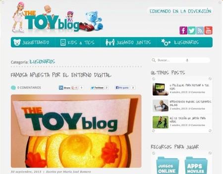 Famosa arranca The Toy Blog un sitio en Internet para compartir experiencias y conocimientos sobre los juguetes