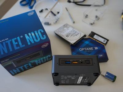 Intel NUC (Core i7 e Intel Octane), análisis: un PC configurable en formato compacto para el salón o el trabajo