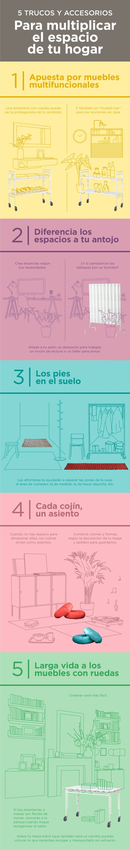 Infografia Ikea Trucos Ampliar Espacio 2 Min