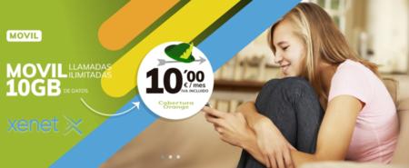 Xenet vuelve a marcar precios mínimos para 7, 20 y 30 GB con llamadas ilimitadas, ahora con cobertura Vodafone