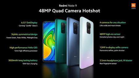 Xiaomi Redmi Note 9 Series Oficial Especificaciones