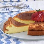 Tarta de yogur esponjosa sin gluten: receta saludable para el postre