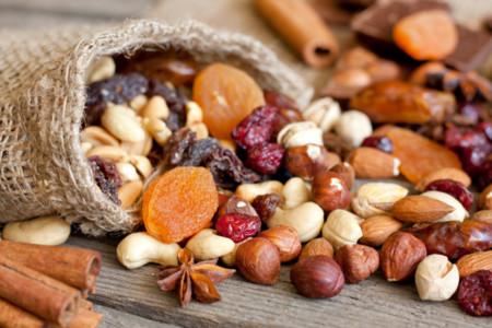Los frutos secos y su contenido de hierro