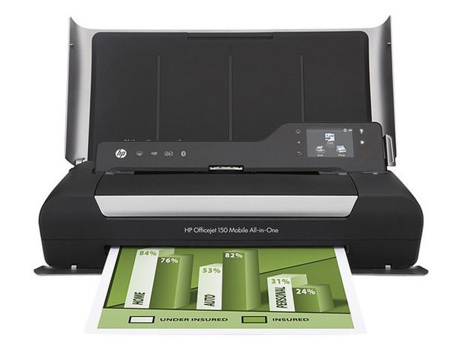 HP OfficeJet 150 Mobile, la impresora viajera