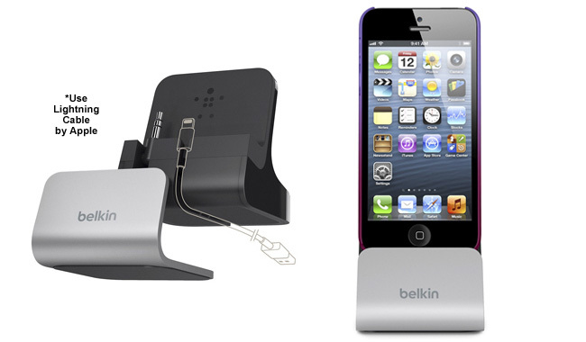 Base dock para iPhone 5 de Belkin
