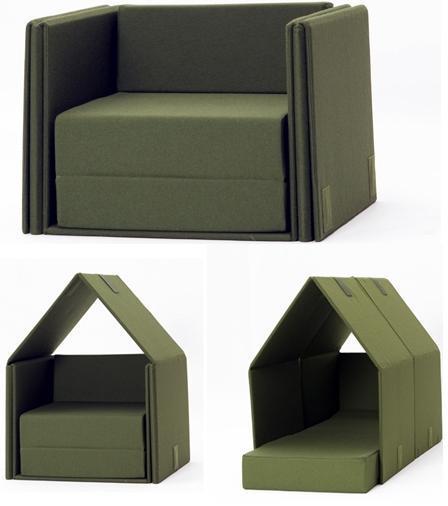 Tent Sofa, un sofá cama con privacidad