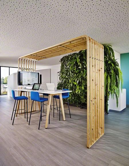 Diseño biofílico, la tendencia que integra la naturaleza en la oficina y mejora el rendimiento