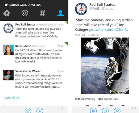 Twitter for Windows Phone recibe su mayor actualización incluyendo una nueva interfaz