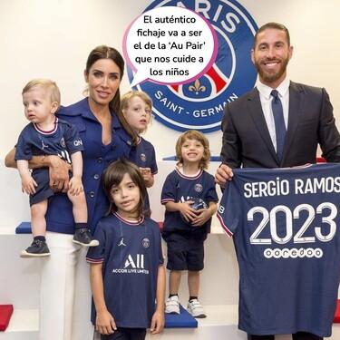 Este será el lugar de residencia de Pilar Rubio y sus hijos tras el fichaje de Sergio Ramos por el PSG