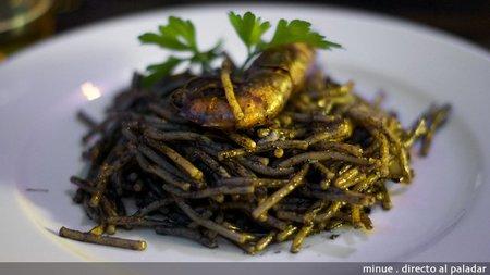 Restaurante el Pekado - fideua negra