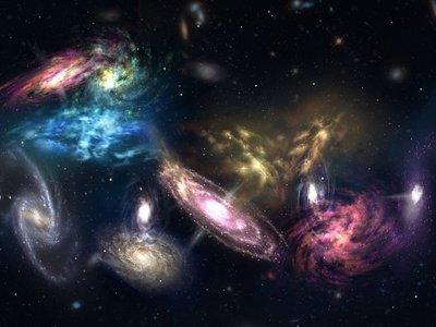 Así es la espectacular colisión de 14 galaxias a más de 12.000 millones de años luz de distancia