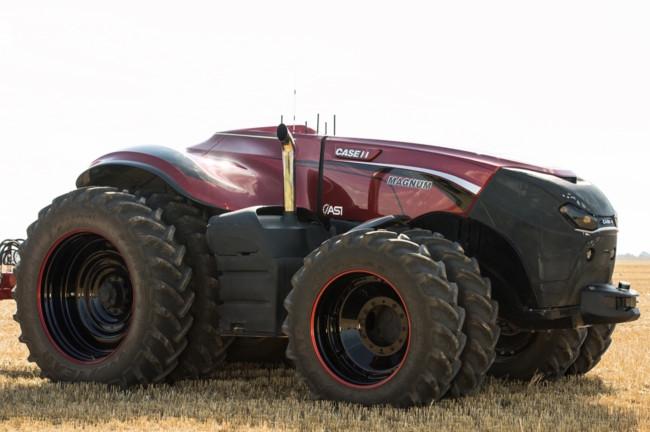 El futuro de la agricultura está en este bestial tractor robótico que no necesita conductor