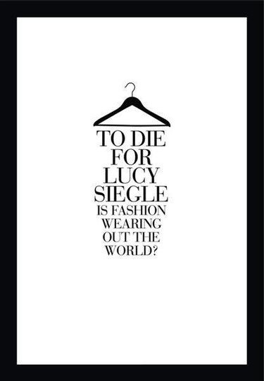 El libro de moda de la semana: To Die For: Is Fashion Wearing Out The World?