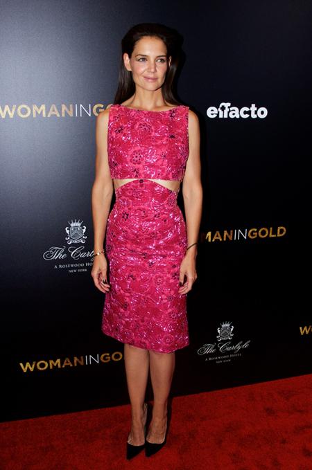 Katie Holmes Woman In Gold Estreno Nueva York 2