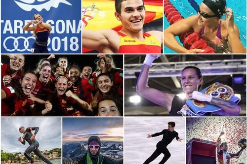 Los 17 mejores deportistas españoles de 2018: estos han sido los grandes éxitos del año