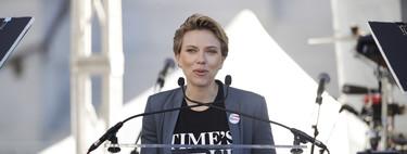 Las celebrities se unen en una nueva marcha de las mujeres que ha invadido Estados Unidos