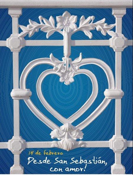 "San Valentín: ""Desde San Sebastián con amor"""