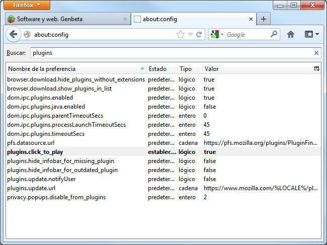 Activación de plugins bajo demanda