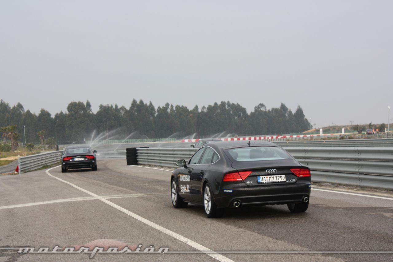 Foto de Goodyear Eagle F1: Audi TT RS, Audi A7 y Mercedes CLS (23/79)