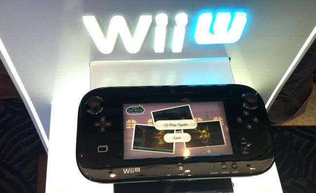 Wii U negra