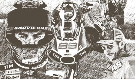 Las comparaciones son odiosas pero las estadísticas dicen que Rossi fue mejor que Lorenzo en su primer año en Ducati