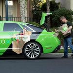 Entrega de comestibles a domicilio: ahora en coches autónomos