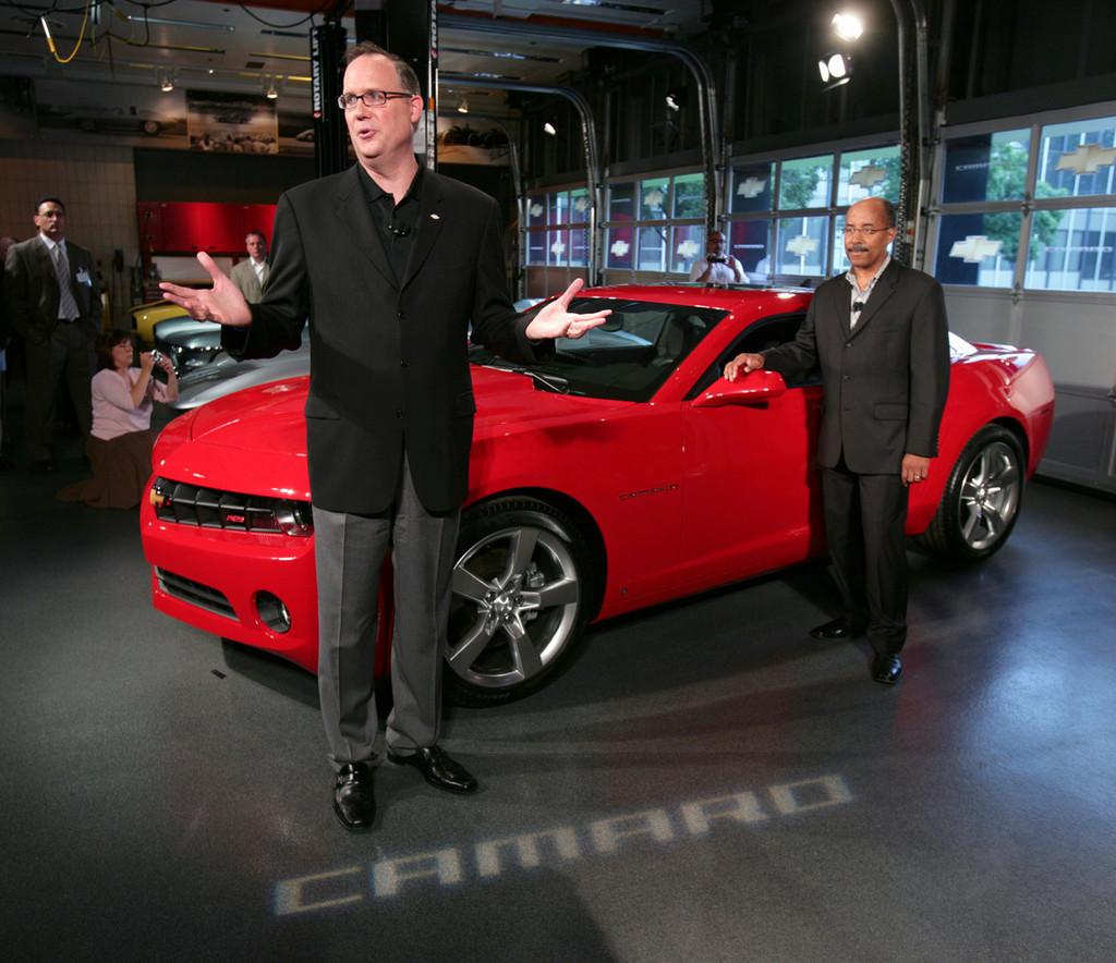 Foto de 2010 Chevrolet Camaro (17/56)