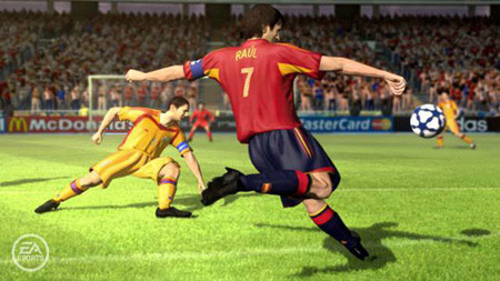 GC 2008 'FIFA 09' actualizará datos de futbolistas semanalmente