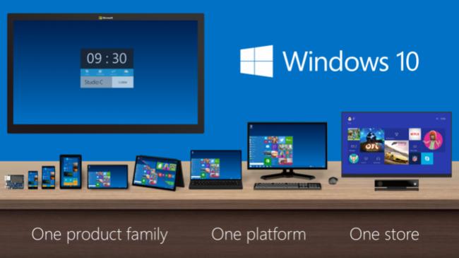 Xbox One Windows 10 Microsoft Corp