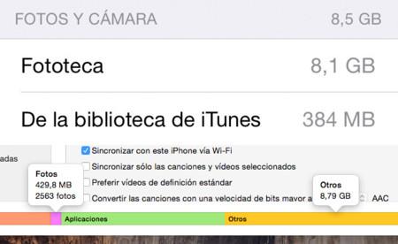 """Cómo recuperar el espacio ocupado por las """"fotos fantasma"""" de iOS 8.3"""