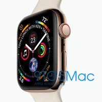 Se filtran imágenes promocionales del Apple Watch Series 4, el próximo reloj inteligente de Apple