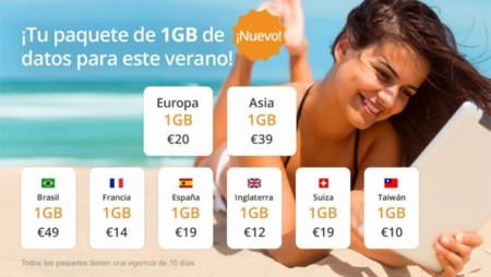 Transatel DataSIM llega para dar conexión a Internet cuando viajes en roaming con bonos de 1 GB