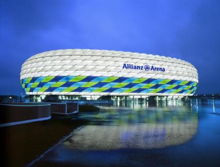 De 3 a 16 millones de colores: los LEDs de Philips animarán la fachada del Allianz Arena