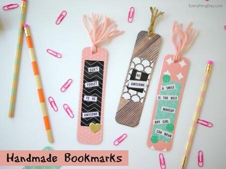 Handmade Bookmarks Everythingetsy Com