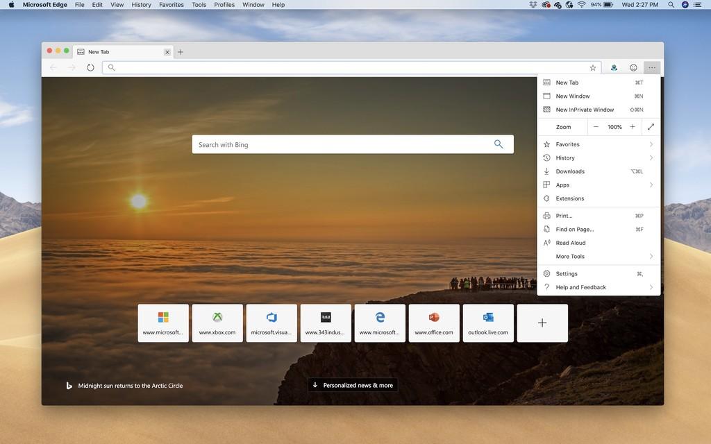 Ya puedes descargar y probar Microsoft Edge Chromium oficial en macOS