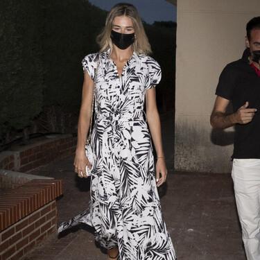 Este vestido de Ana Soria de Tommy Hilfiger nos recuerda lo mucho que visten los diseños camiseros largos