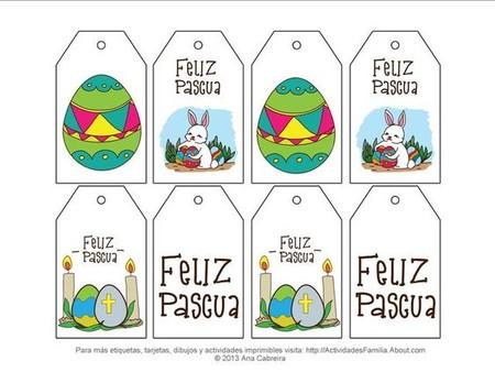 13 imprimibles gratis para decorar en Pascua