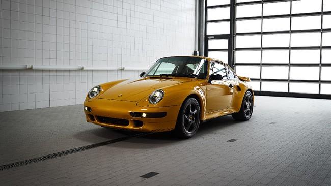 Porsche 993 Turbo Project Gold, el nuevo 911 que todos queremos aunque sea de hace 20 años