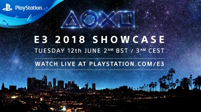 E3 2018 Sony