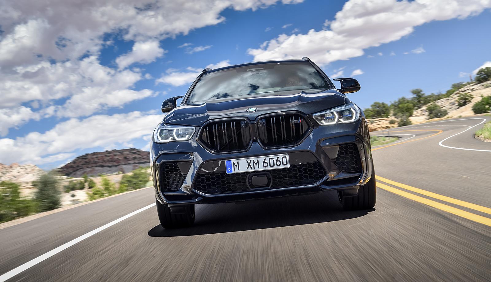 Foto de BMW X6 M y X6 M Competition 2020 (1/24)