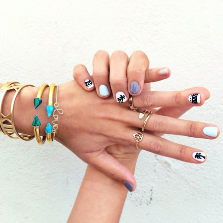 nail art song of style