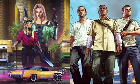 Cyberpunk 2077 vs GTA V: estos vídeos comparativos ponen frente a frente sus gráficos, detalles y posibilidades