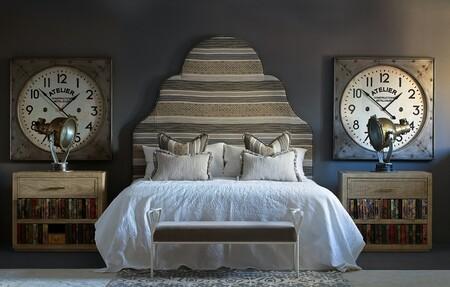 Headboard Cushions In Condor Raffles Bedside Table