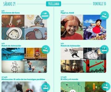 El 29 y 30 de noviembre se celebra la primera edición de Mi Primer Festival de Cine de Madrid para peques