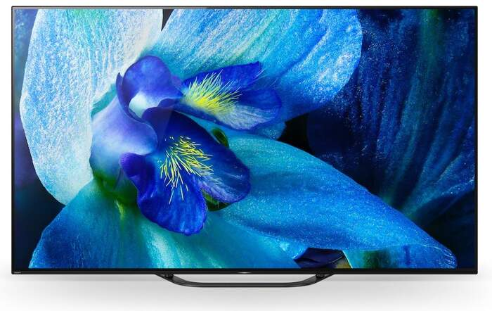 "TV OLED Sony 65"" KD65AG8 - 4K X-Reality PRO, HDR Processor X1 Extreme, Android TV, Dolby Vision"
