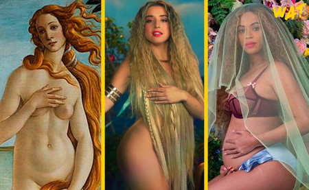 Lola Indigo se inspira en la Venus de Boticelli y Beyonce para cerrar su último videoclip