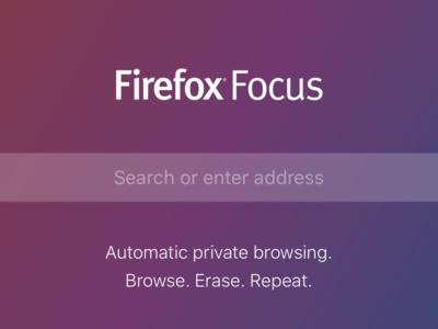 Firefox Focus, el navegador de iOS que lleva la privacidad por bandera