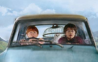Harry Potter y el misterio del Ford Anglia